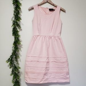 CYNTHIA ROWLEY pastel pink dress XS